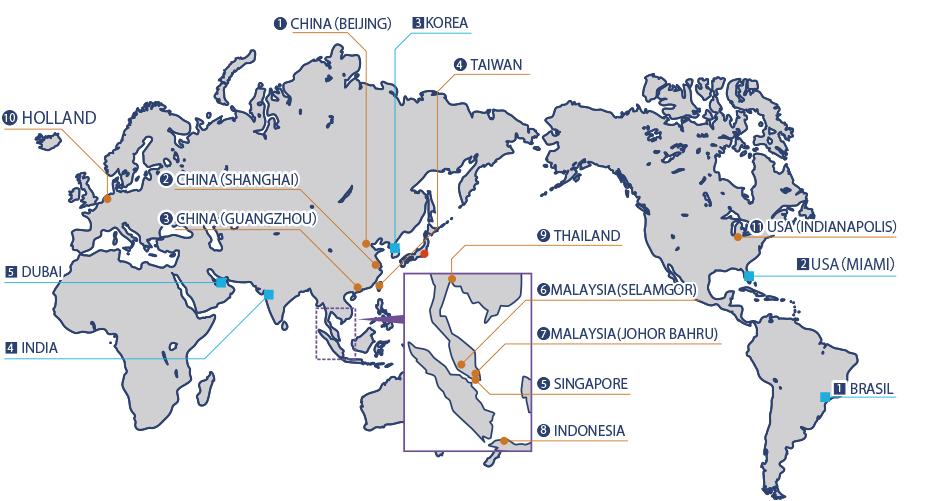 world map of newlong