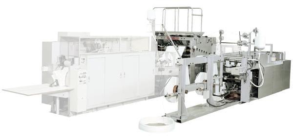 製袋機の把手製造装置