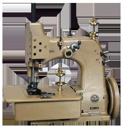 工業用ミシンの製袋用ミシンのHR-2A(麻袋用縁かがり縫ミシン)