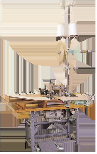 工業用ミシンの製袋用ミシンのTN-2D(紙袋製袋用テーブルセット)