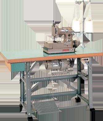 工業用ミシンの製袋用ミシンのテーブル・スタンド・モーター(TSM)