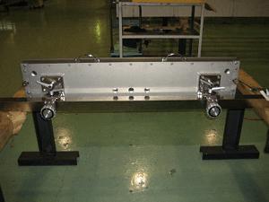 加工機器用のラ加温型ドクターチャンバー