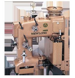 工業用ミシンの袋口縫ミシンのDS-6AC(エアーシリンダー式クレープテープカッター付ミシン頭部)