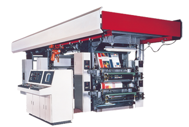 スタック型フレキソ印刷機